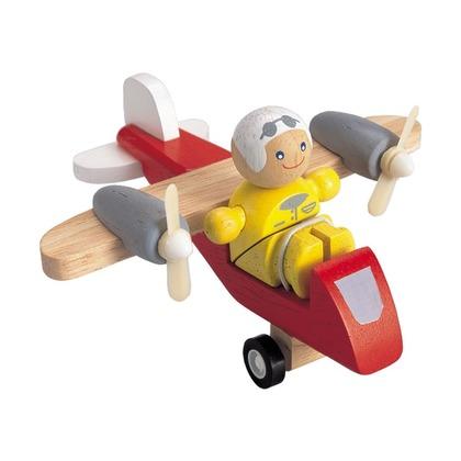 Самолет с пилотом