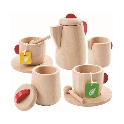 Деревянный набор Чаепитие