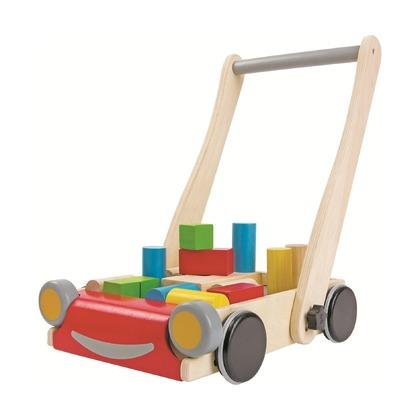Каталка-тележка с блоками