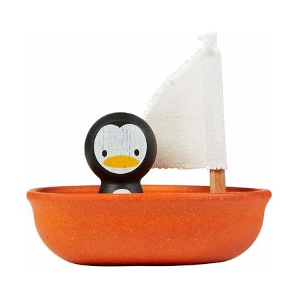 Пингвин в лодке
