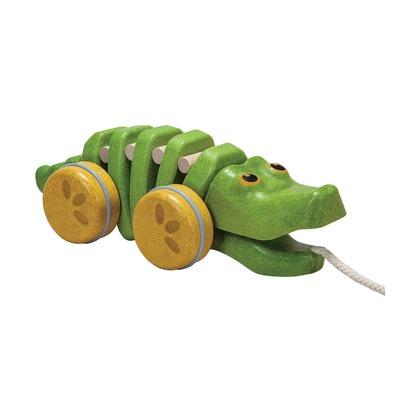 Каталка Танцующий крокодил